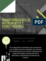 Transformadores de Intrumentacion y Sobretensiones
