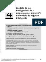 Capítulo 4. Modelo de Las Inteligencias de La Empresa en El Siglo XXI Un Modelo de Negocio Inteligente