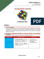 PSICOLOGÍA SOCIAL- Unidad 4_Marlene Dorigoni