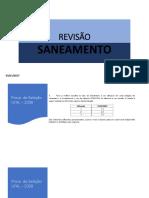 REVISÃO Saneamento