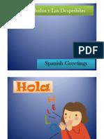 Los Saludos y Despedidas en Español