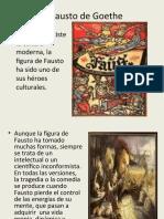 El Fausto de Goethe