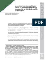 Modelo de Gestão Municipal - Tecnologia e Gestão