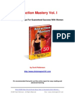 Attraction Mastery - Scott Patterson - Tips for Attraction 66 Pages