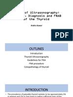 1. Dr. Andra Basic of Ultrasonography Banten Endocrine Update 2017