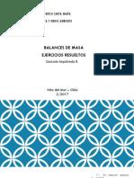 3. Balances de Masa - Ejercicios Resueltos (2)
