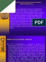 Las Primeras Realizaciones Del Modelo Urbano Hispánico