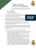 Funciones, Escalas y Categorias Del Cnp