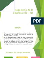 Reingeniería de La Empresa Eco – Me3