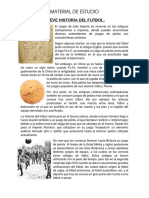 Breve Historia Del Futbol
