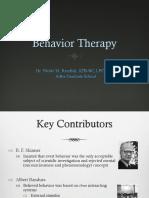 behaviortherapy