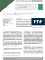 Mejoramiento de crudos con tecnología emergente