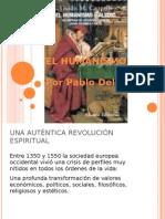 El Humanismo Por Pablo Delgado