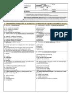 Evaluación de Ciencias Naturales Unidad 1 Fuerza y Movimiento