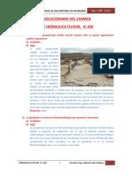 Examen de Hidráulica Fluvial IC UNSCH