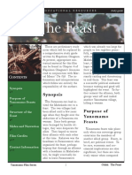 The Feast Study Guide