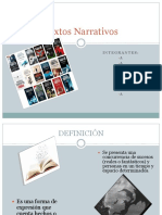 Textos Narrativos
