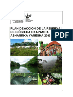 Plan Accion Reserva Biosfera Yanesha Ash