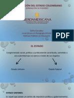 Organización Del Estado Colombiano[1]
