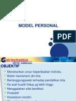 7.4 Model Personal