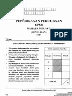 Bm Penulisan Trial Kelantan 2017