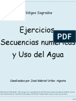 Ejercicios, Secuencias Numericas y Uso Del Agua