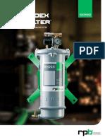 RPB Radex Airline Filter Product Brochure
