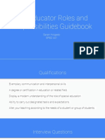 paraeducator guidebook
