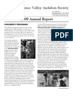 2009 Annual Report Potomac Valley Audubon Society