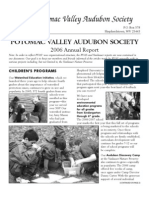 2006 Annual Report Potomac Valley Audubon Society