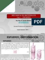 Res. de Materiales - Esfuerzo Simple y Doble