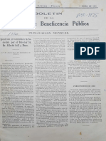 Boletín de la Beneficencia Pública de Lima, 1921