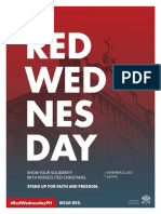 Red Wednesday Flyer