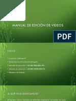 Manual de edición de videos NUEVO