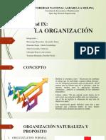 La Organizacion - Administracion Diapositivas