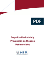 Seguridad Industrial y Prevención de Riesgos Patrimoniales