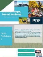 ppt Ketahanan Pangan, Industri, Dan Energi