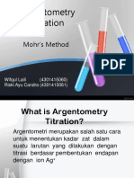 Argentometri (Metode Mohr)