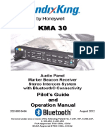 Pilot's Guide Audio Panel KMA-30-PG