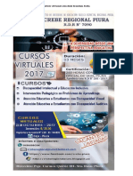 Cursos Virtuales Delcrebe Regional Piura