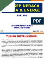 03 TK 205 Konsep Neraca Massa Dan Energi