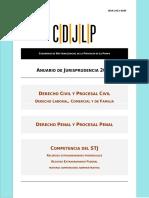 Anuario de Jurisprudencia 2012