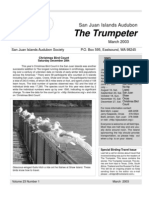 Mar 2003 Trumpeter Newsletter San Juan Islands Audubon