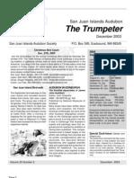Dec 2003 Trumpeter Newsletter San Juan Islands Audubon