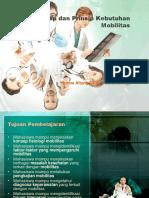 3. Konsep Dan Prinsip Kebutuhan Aktivitas Dan Latihan