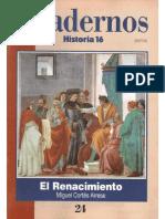 Cuadernos Historia 16 024 1995 El Renacimiento
