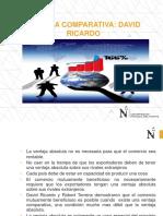Ventaja Comparativa - David Ricardo