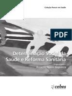 Determinacao Social Da Saúde e Reforma Sanitária
