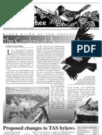 06-2007 Towhee Newsletter Tahoma Audubon Society