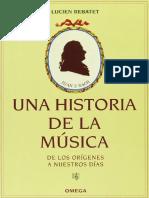 REBATET, L. - Una Historia de La Música